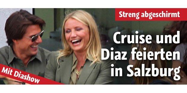 Cruise und Diaz feierten in Salzburg