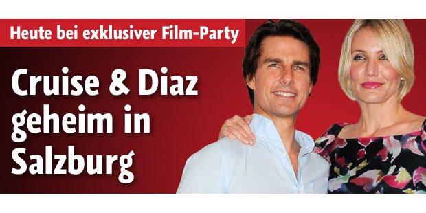 Tom Cruise & Cameron Diaz in Salzburg!