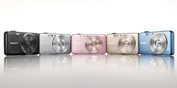Sony trumpft mit drei neuen Digicams auf