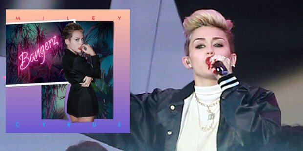 Miley Cyrus bringt Skandal-Platte heraus