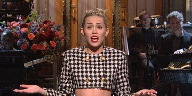 Miley Cyrus polierte Image bei SNL auf