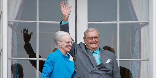 Königin Margrethe: Sorge um ihren Mann