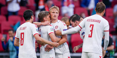 EM 2020: Dänemark jubelt im Team