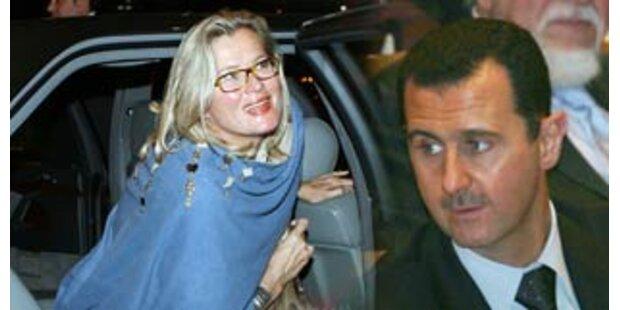Plassnik trifft Syriens Staatschef in Damaskus