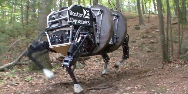 US-Armee wird Roboter-Packesel einsetzen