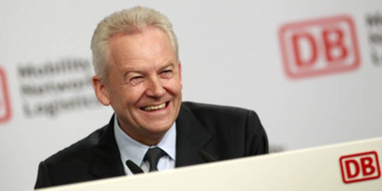 Der Chef der Deutschen Bahn AG, Rüdiger Grube.