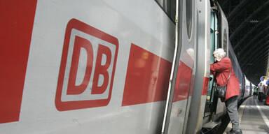 ICE-Zug in Bayern gerät in Brand