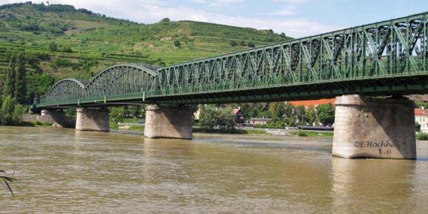 Donaubrücke Mautern wieder in Betrieb