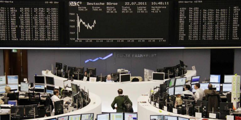 Europas Leitbörsen zur Eröffnung schwach