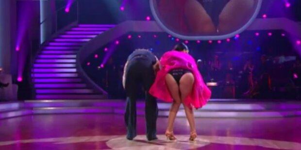 Dancing Star Jukic zeigt Hinterteil und fliegt raus