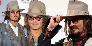 Johnny Depp ist 'Hutträger des Jahres'