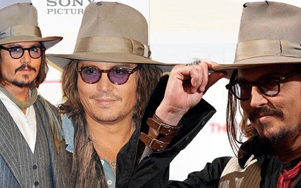 Depp ist 'Hutträger des Jahres'