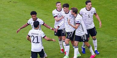 """Deutsche jagen gegen """"Three Lions"""" das Wembley-Glück"""