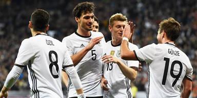 4:1! Deutschland führt Italien vor