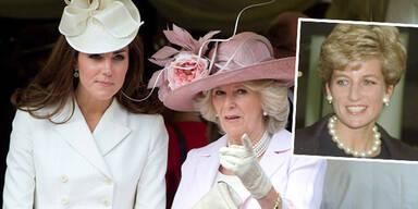 Kate, Camilla, Diana