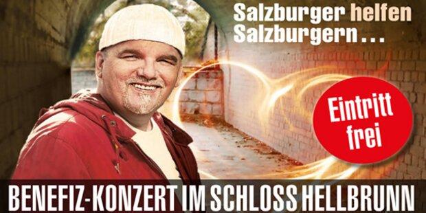 Benefizkonzert von DJ Ötzi