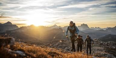 Speed Hiking mit Aussicht