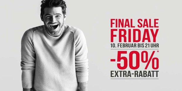 Heißer Final Sale Friday im McArthurGlen Designer Outlet Salzburg