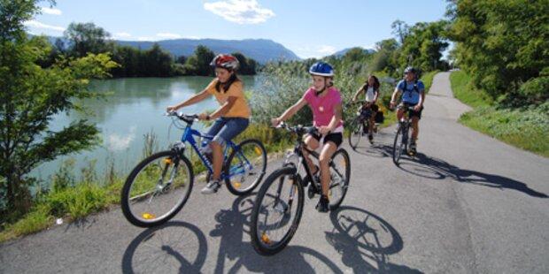 Die besten Familien-Radtouren