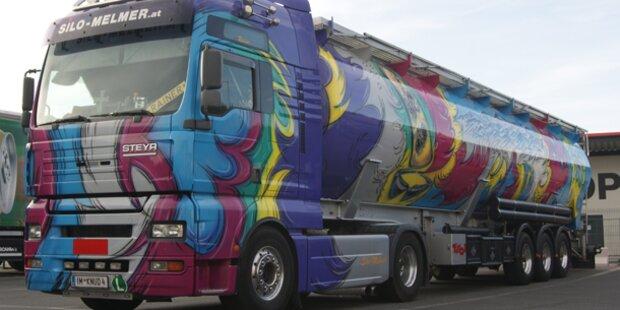 Trucker- Treffen am Obertrumer See