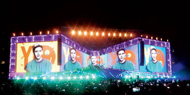 One Direction rocken Wien