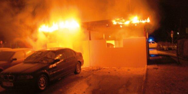 Polizei fasste 3 Feuerteufel aus Telfs