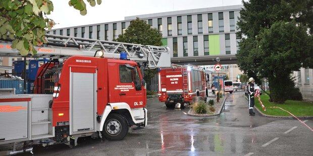 Brandalarm im Landeskrankenhaus: