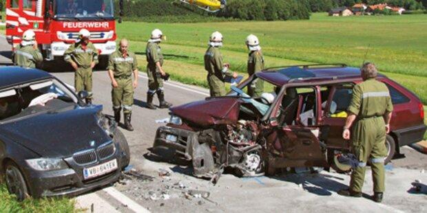 Horror-Crash zweier Pkws: Salzburger tot
