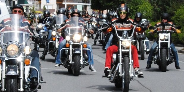 Die Harley-Davidson Charity-Tour 2014
