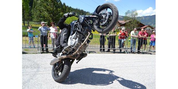 Das war die 2. Antenne Salzburg Motorradsternfahrt