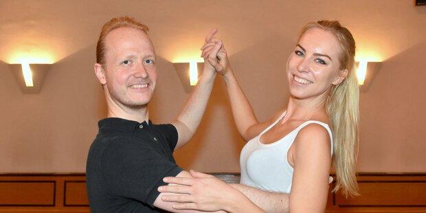 Nadine Friedrich tanzt für guten Zweck