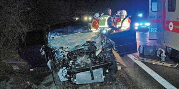 Todesstrecke: Wieder Crash auf der A 21
