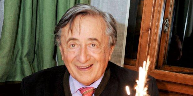 Richard Lugner: Mörtel wird 80 Jahre alt