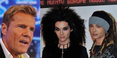 Dieter Bohlen und Tokio Hotel