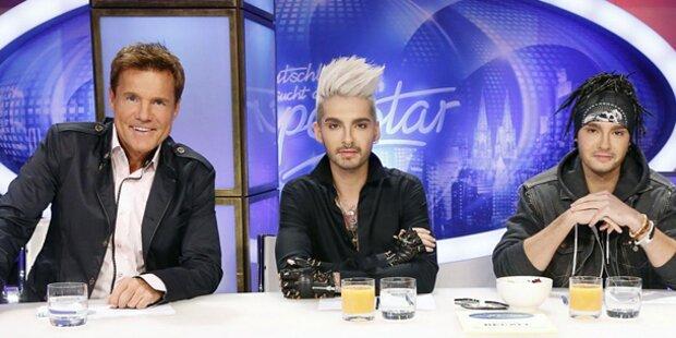 Zehnte DSDS-Staffel mit Tokio Hotel