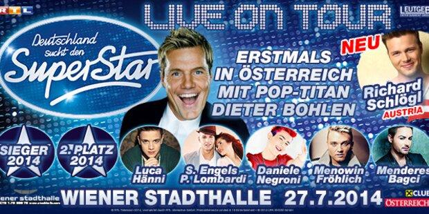"""""""Deutschland sucht den Superstar""""-Tour"""