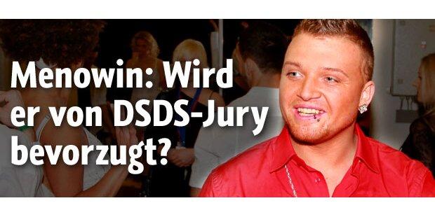 DSDS - Wird Menowin von Jury bevorzugt?