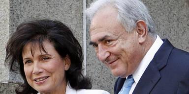 DSK Strauss-Kahn Anne Sinclair