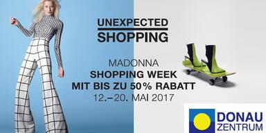 Madonna Shopping Week im Donau Zentrum