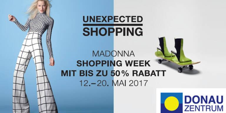 Schnäppchen-Shopping im Donau Zentrum
