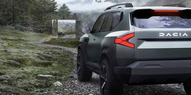 Dacia verpasst sich ein völlig neues Logo