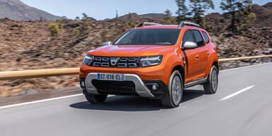 Dacia wertet den Duster ordentlich auf