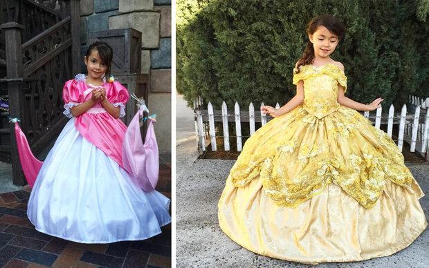 Dieser Vater macht seine Kinder zu Prinzessinnen