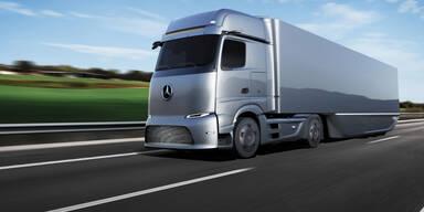 Daimler glaubt an frühes Aus für Diesel-Lkw in der EU