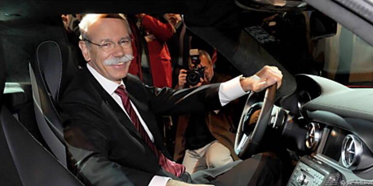 Daimler-Chef Zetsche kann wieder lachen