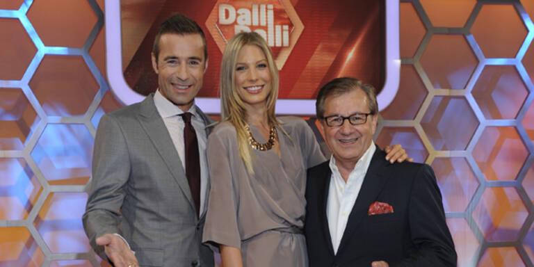 "Sarah Brandner dreht ""Dalli, Dalli""-Show"