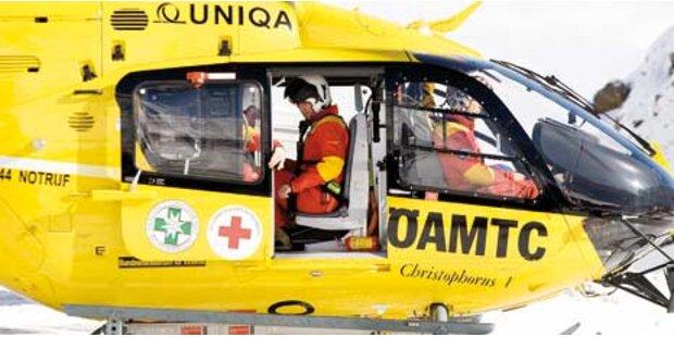 Zwei Schwerverletzte bei Arbeitsunfällen