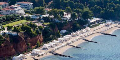 Blick auf das Danai Resort