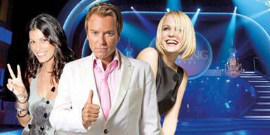 """Alisar Ailabouni, Uwe Kröger & Mirjam Weichselbraun bei """"Dancing Stars 6"""""""