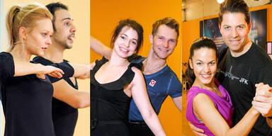 """Dancing Stars 2014"": Trainingsbeginn"